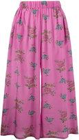 Natasha Zinko floral print wide leg culottes - women - Silk - 34