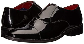 Carlos by Carlos Santana Graham Slip-On Oxford (Black Patent Leather) Men's Shoes