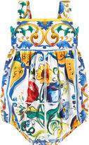 Dolce & Gabbana Printed shortall Maiolica