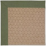Zeppelin Tufted Plant green/ Brown Indoor / Outdoor Use Area Rug Longshore Tides Rug Size: Rectangle 9' x 12'