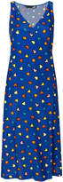 Love Moschino heart print midi dress