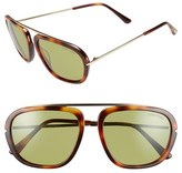 Tom Ford 'Johnson' 57mm Sunglasses