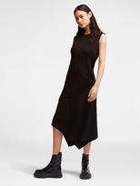 DKNY Layered Jersey Dress