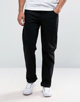 Asos Relaxed Jeans In Black