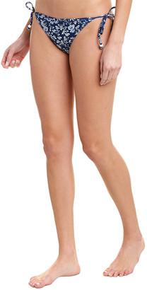 Shoshanna Swimwear Binding Triangle Bikini Bottom