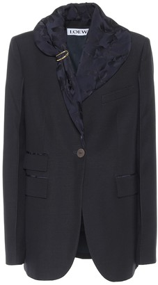 Loewe Embellished wool blazer