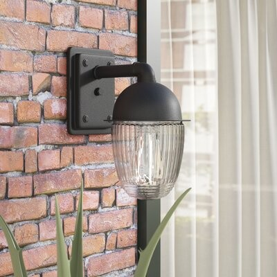 Williston Forge Ardith Outdoor Armed Sconce Size 9 H X 5 W X 7 D Shopstyle