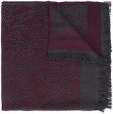 Versace Medusa logo scarf