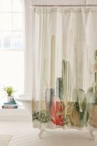 Urban Outfitters Cactus Landscape Shower Curtain