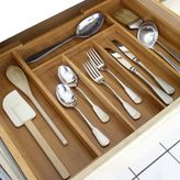 Axis Expandable Bamboo Cutlery Tray