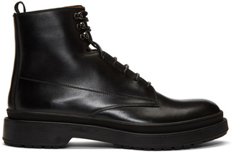 BOSS Black Leather Montreal Halb Boots