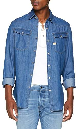 G Star G-Star Men's 3301 Shirt L/S Denim