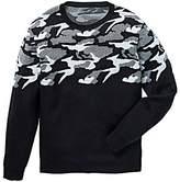 Label J Camo Fade Crew Knit Regular