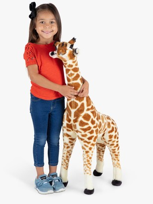 Melissa & Doug Giraffe Baby Plush Soft Toy