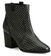 Rebecca Minkoff Sierra Studded Leather Block-Heel Booties