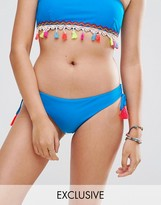 South Beach Tassel Loop Side Bikini Bottom