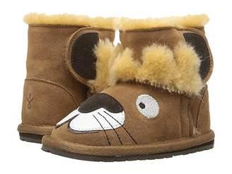 Emu Leo Lion Walker (Infant) (Chestnut) Kids Shoes