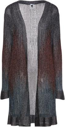 M Missoni Metallic Pointelle-knit Cardigan