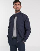Ben Sherman harrington jacket-Navy