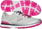 Callaway Gray & Pink Solaire Golf Shoe - Women