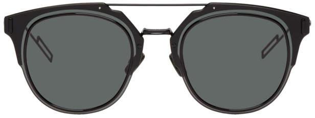 Christian Dior Black Composit 1.0 Sunglasses