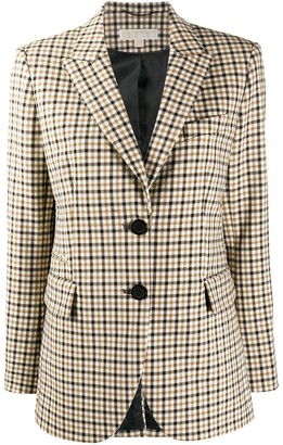 MICHAEL Michael Kors Checked Blazer