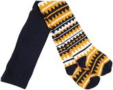 Happy Socks 1-pk Zig Zag Tight - Navy-12-24 Months