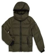 S13/Nyc Little Boy's Quilted Solid Puffer Jacket
