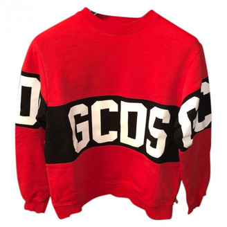 GCDS Red Cotton Knitwear & Sweatshirts