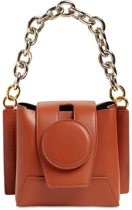 Yuzefi Daria Chain Top Handle Leather Bag