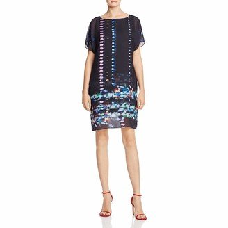 Kenneth Cole Women's Chiffon Overlay T-Dress