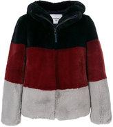 Dondup hooded fleece jacket