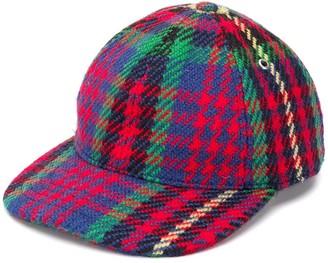 Ami Tartan Style Cap