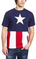 Marvel Captain America Cut & Sew Applique T-Shirt
