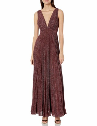 Jill Stuart Jill Women's Knit Pleated Gown
