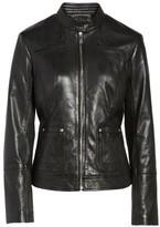 Bernardo Women's Leather Moto Jacket
