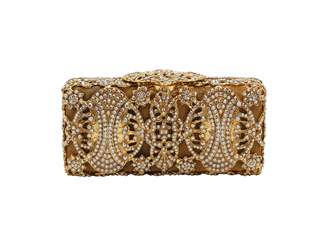 N. Non Signé / Unsigned Non Signe / Unsigned \N Gold Metal Clutch bags