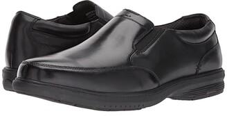 mens black slip resistant dress shoes