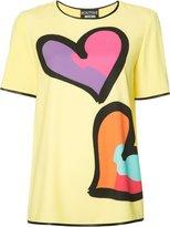 Moschino heart print T-shirt