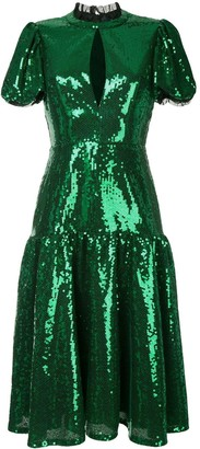 Macgraw Ziggy sequinned dress