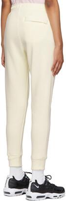 Nike Yellow Fleece Sportswear Club Lounge Pants