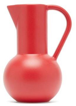 Raawii - Strm Small Ceramic Jug - Red