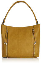 "Oasis DREW DOUBLE ZIP HOBO [span class=""variation_color_heading""]- Ochre[/span]"