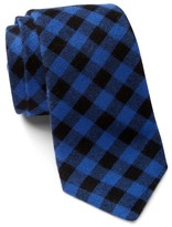 Alexander Olch Narrow Gingham Tie