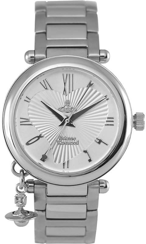 Vivienne Westwood VV006SL Orb stainless steel watch
