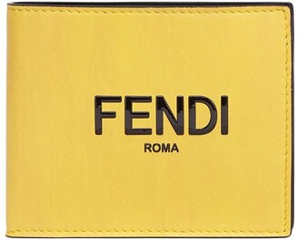 Fendi Embossed Logo Bi-Fold Wallet