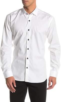 Maceoo Galileo Maze Print Tailored Fit Dress Shirt