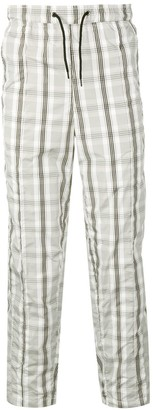 Pleasures Checked Track Trousers