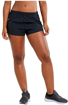 Craft Vent Racing Shorts (Black) Women's Casual Pants