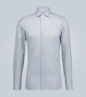 Ermenegildo Zegna Long-sleeved striped shirt